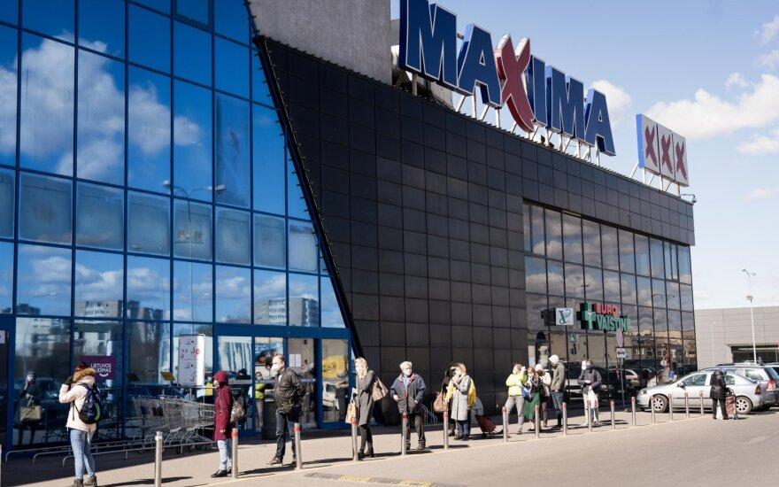 """""""Maxima Grupės"""" pajamos pernai pasiekė beveik 4 mlrd. eurų"""