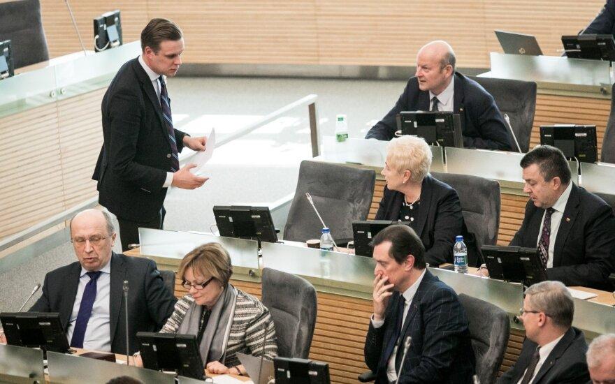 Kas būtų išdrįsęs eiti į rinkimus: kaip balsavo Seimo nariai