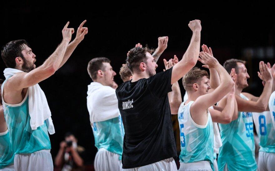 Slovėnijos krepšinio rinktinė
