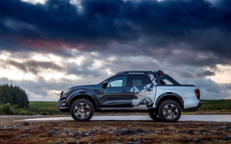 """""""Nissan Navara Dar Sky"""" koncepcinis modelis"""