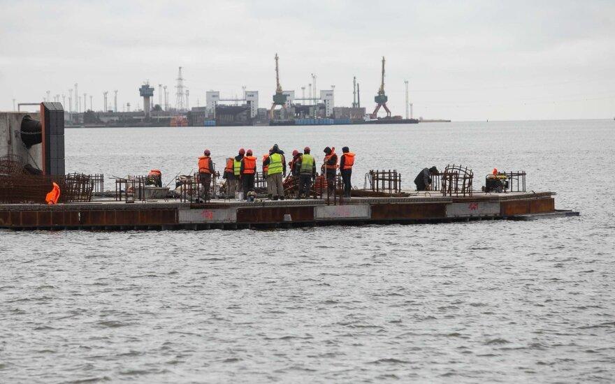 Klaipėdos uoste ribojama laivyba