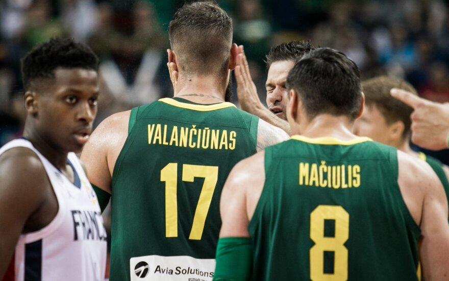 FIBA atmetė Lietuvos rinktinės protestą