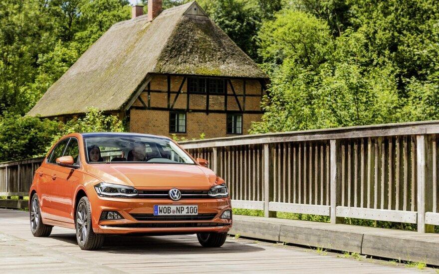 """Nepaisant įvairių sunkumų, """"Volkswagen"""" 2018-uosius pradėjo stipriai"""