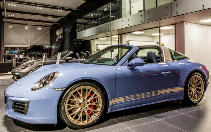"""Porsche 911 Targa 4S Exclusive Design Edition"""