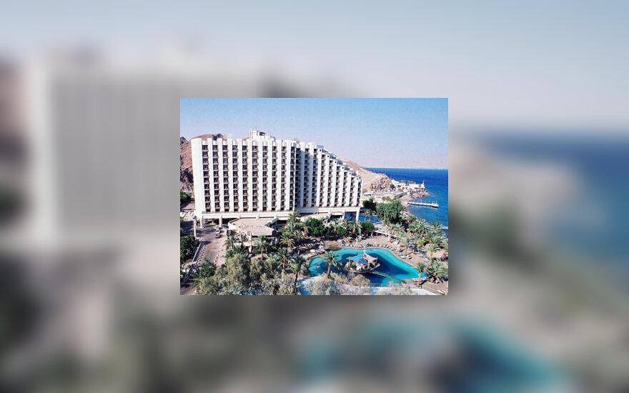 """Viešbutis """"Taba Hilton"""" Egipto Raudonosios jūros kurorte"""