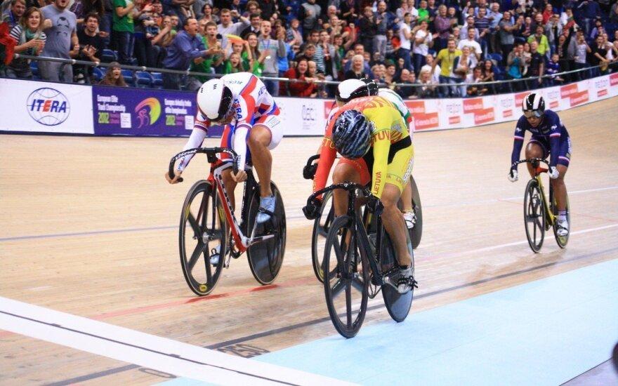 Tarptautinėse dviračių treko varžybose Lenkijoje - S. Krupeckaitės pergalė