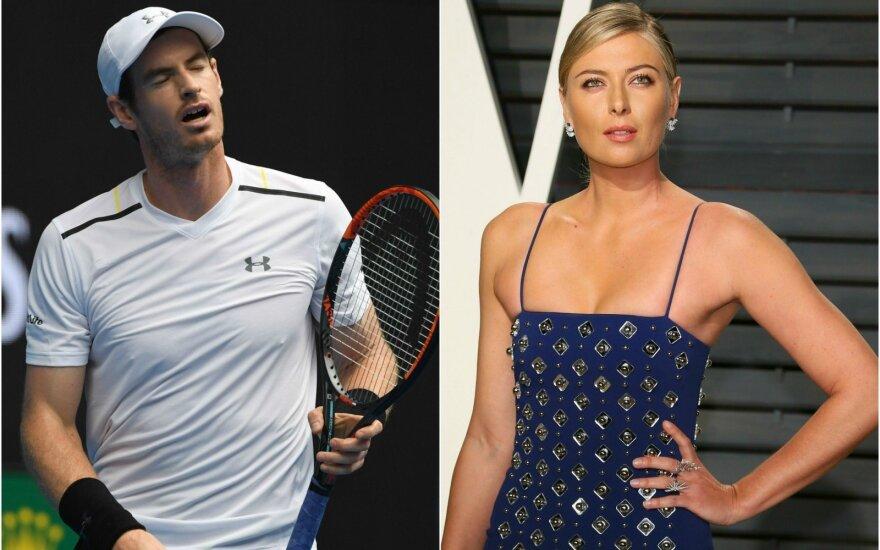 Andy Murray, Marija Šarapova