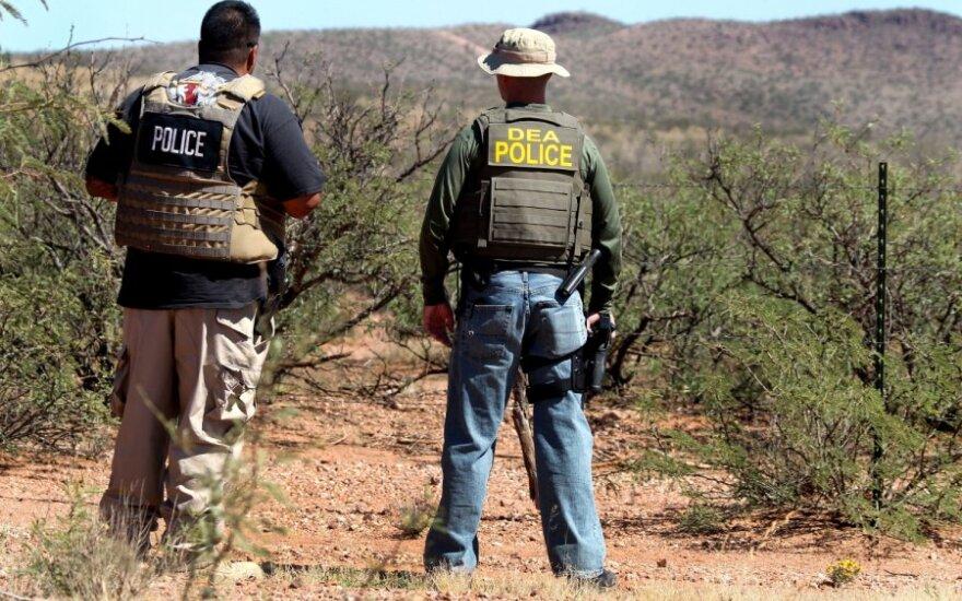 """Meksikoje pagrobtas kartelio """"Zetas"""" vadeivos lavonas"""