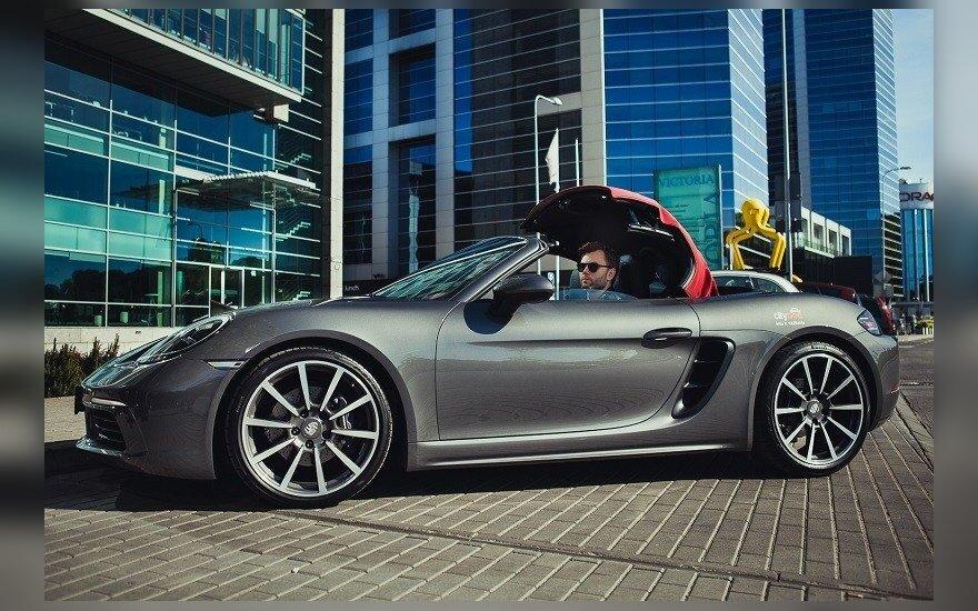 """""""Porsche 718 Boxster"""" kabrioletas"""