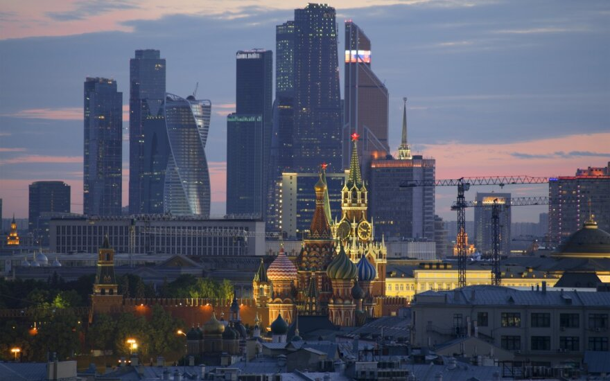 Rusijos ekonomika pirmąjį metų ketvirtį susitraukė 1 proc.