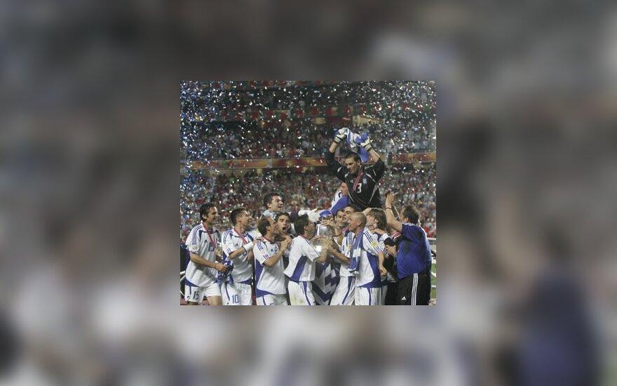 Graikijos rinktinės triumfas