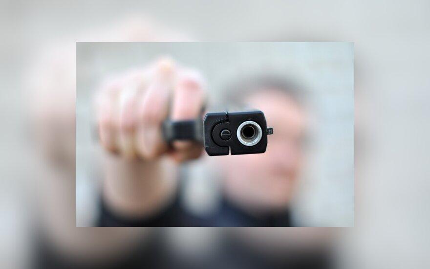 Kijevo centre nušautas praeivis