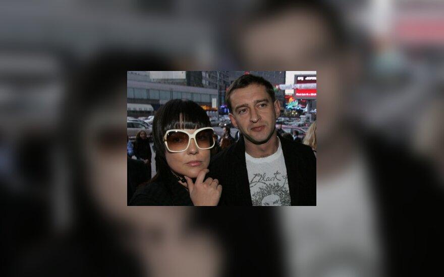 Konstantinas Chabenskis su žmona Anastasija