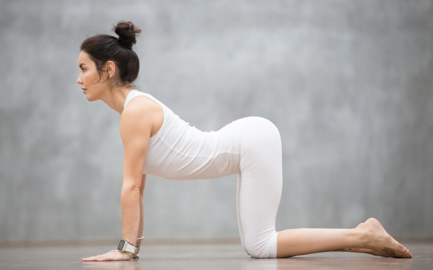 Naujausia sporto mada – paprastas pratimas, išjudinantis visus raumenis
