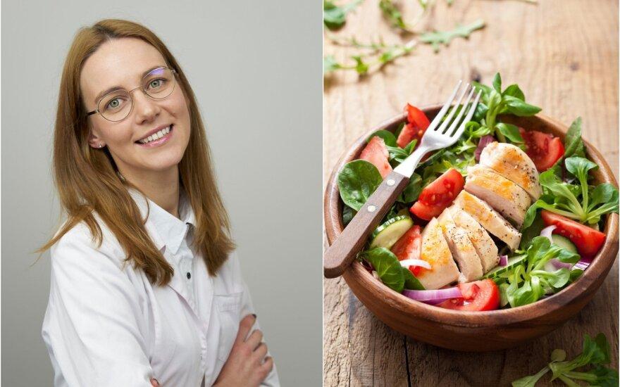 Justina Linauskaitė-Kekė papasakojo, kokia turėtų būti vakarienė.