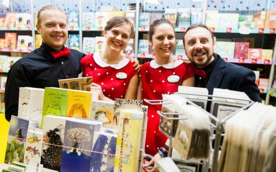 Sostinė kviečia į kalėdinę knygų mugę