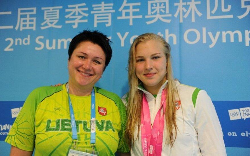 D. Gudzinevičiūtė apie olimpinius tikslus: mums pranašauja 2-3 medalius, aš norėčiau daugiau