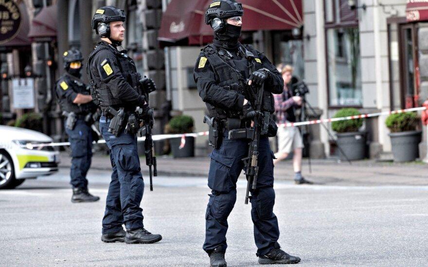 Danijoje sužeistas peiliu policijai grasinęs vyras