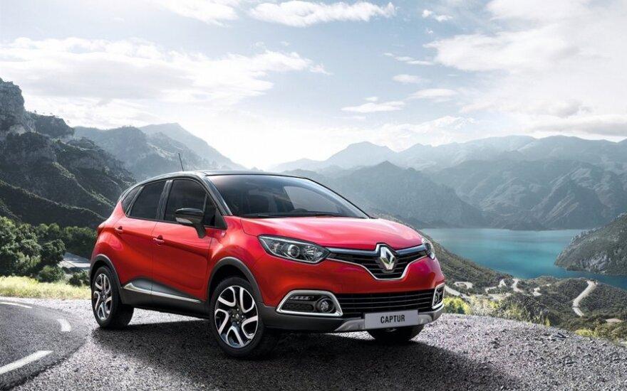 Ypatinga Renault Captur versija