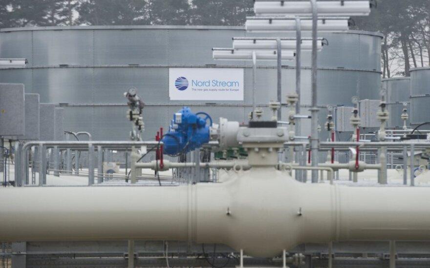 """""""Nord Stream"""" dujotiekiui pradėjus veikti, tranzitas per Ukrainą sumenko penktadaliu"""
