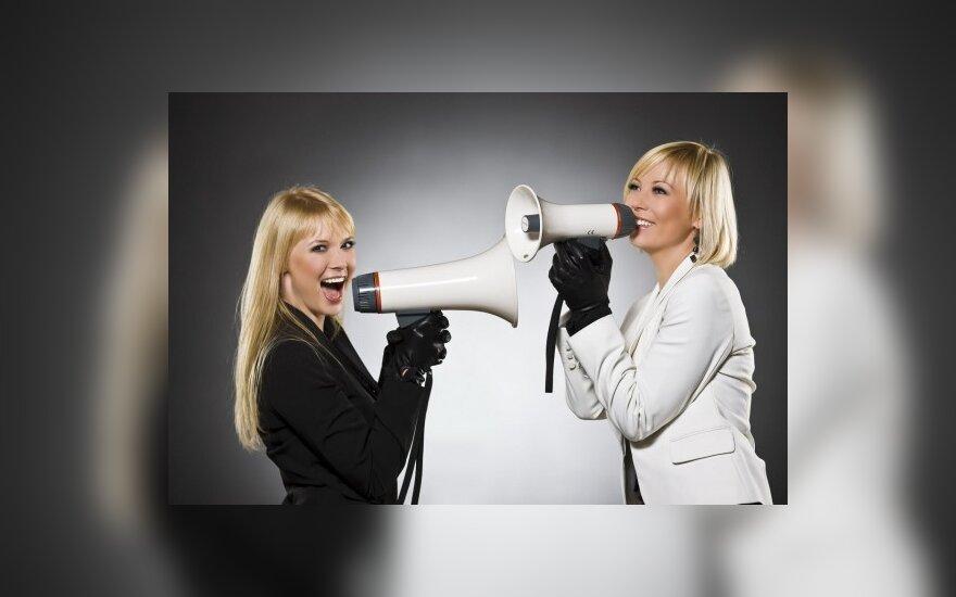 Mia ir N.Zvonkė jau galanda slaptus ginklus