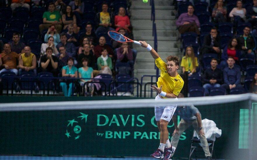 Daviso taurė: Lietuvos tenisininkai žino, jog klysti nebegali ir tikisi karšto aistruolių palaikymo