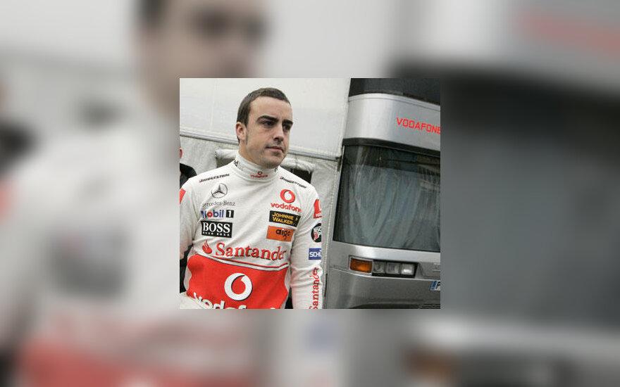 "Fernando Alonso (""McLaren"")"