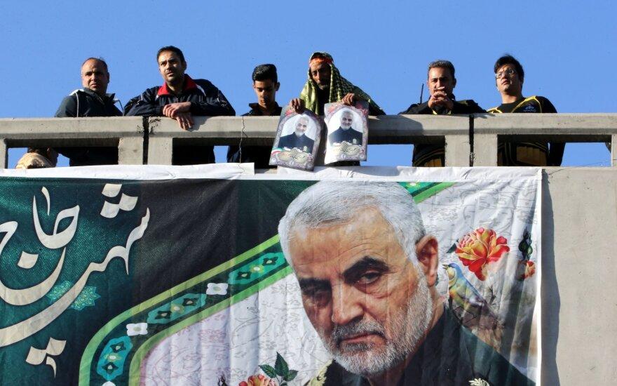 JAV pagrasino Soleimani įpėdinui: jį ištiks toks pat likimas
