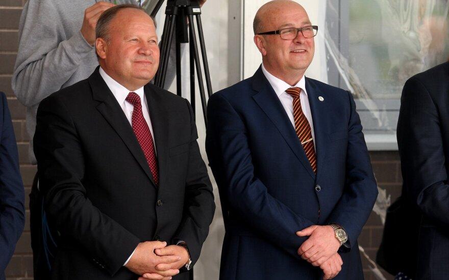 Valerijus Makūnas ir Visvaldas Matijošaitis