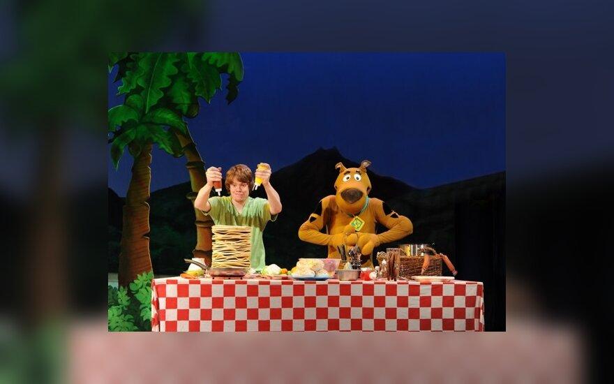 """""""Scooby-Doo"""" šou trupė"""