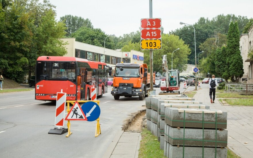 Olandų g. rekonstrukcija