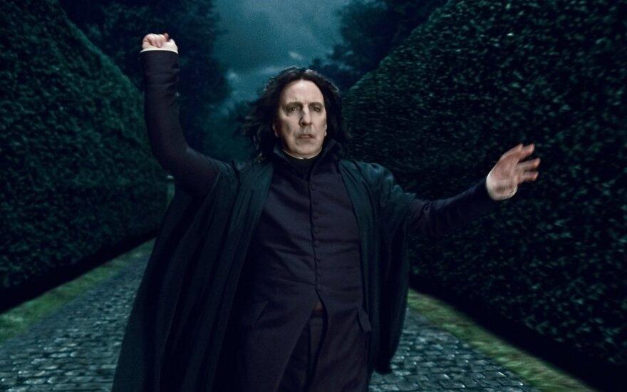 Alanas Rickmanas-profesorius Severusas Snape'as