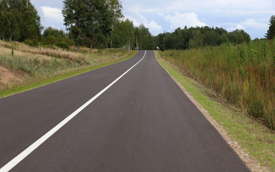Kauno rajone atidarytas naujas kelias: tikisi naudos vietiniam verslui