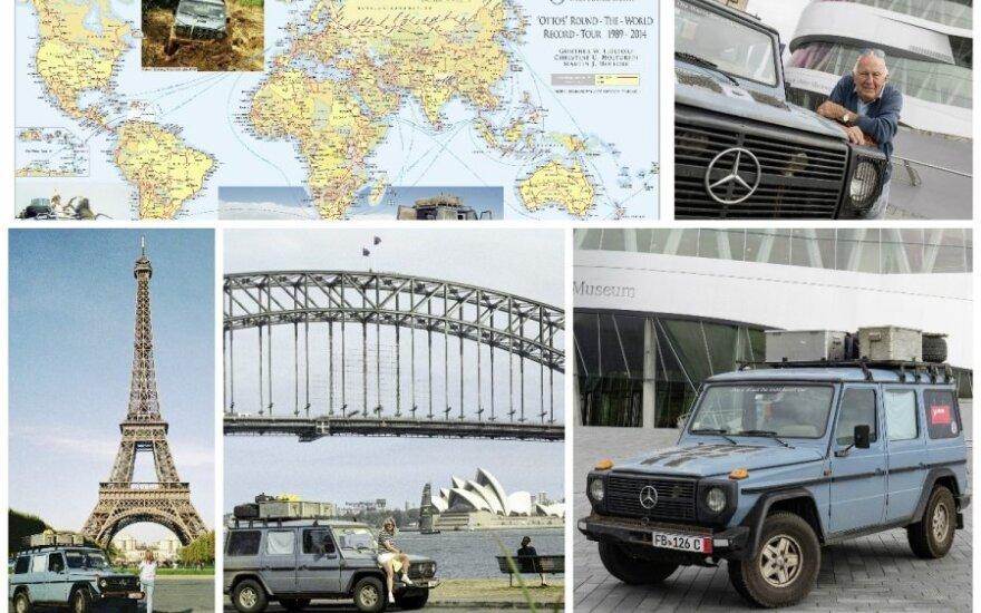 Automobilis, apvažiavęs visą pasaulį