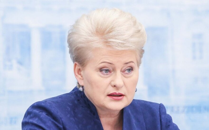 President Grybauskaitė outlines her second term agenda: fighting poverty, propaganda and incompetence in law enforcement