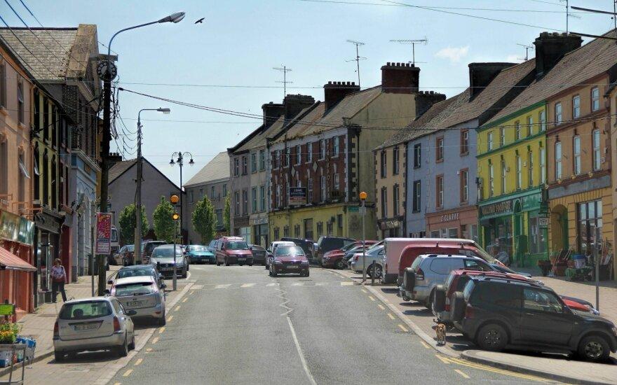 Miestelis Airijoje, kuriame lietuviams net nebereikia anglų kalbos