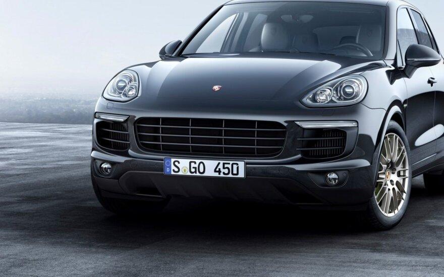 """""""Porsche Cayenne Platinum Edition"""""""
