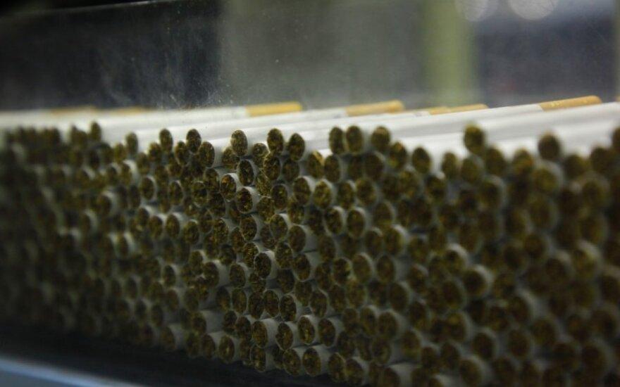 Keisis cigarečių pakelių išvaizda