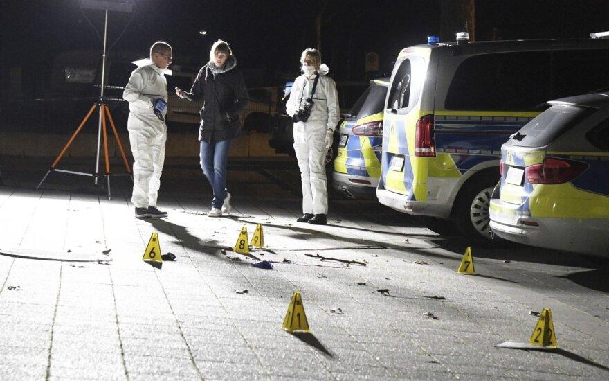 Vokietijoje nušautas peiliu besišvaistęs turkas