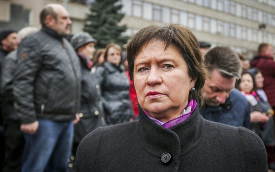 Agriculture Minister Virginija Baltraitienė