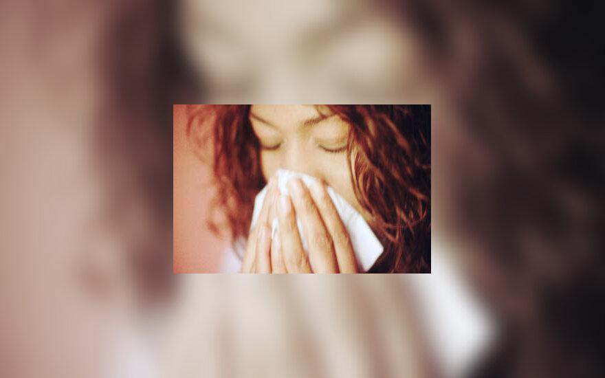 sirgti, sloga, nosis, peršalimas