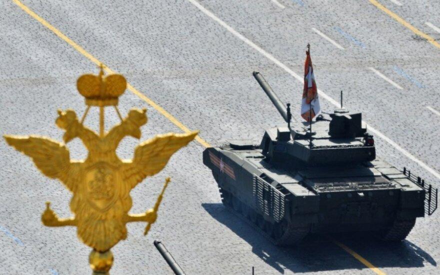 Čekų generolas: Rusija gali okupuoti Kijevą ir Baltijos šalis per dvi paras