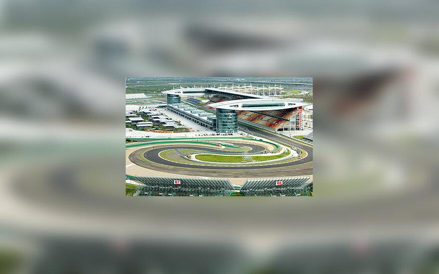 """Formulės-1""  trasa Šanchajuje"