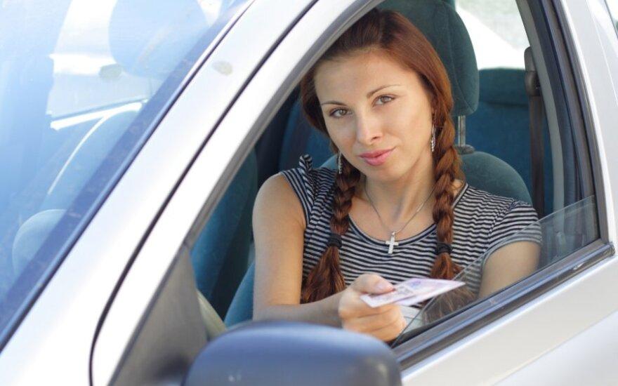 Vairuotojo pažymėjimas, teisės