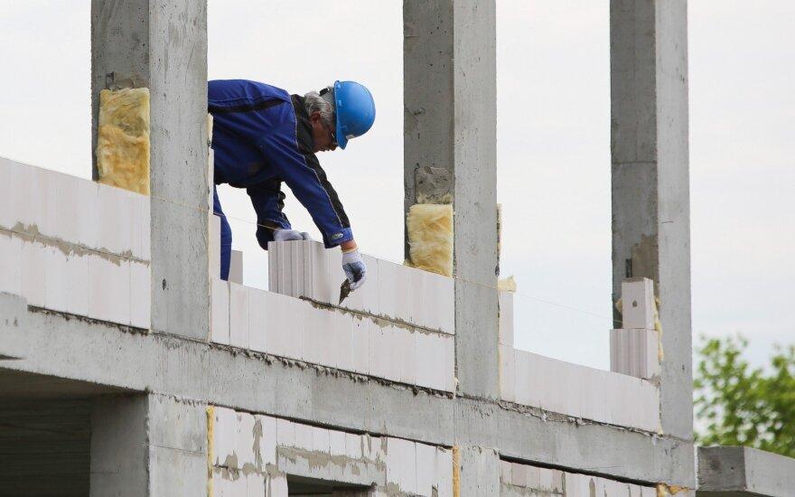 Po švenčių patikrinti statybininkai nustebino patys save