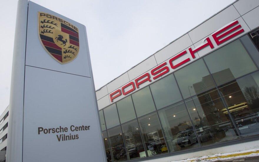 Porsche salonas Vilniuje