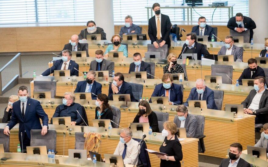 Seimas norėtų pokyčių Nacionalinės sveikatos tarybos veikloje
