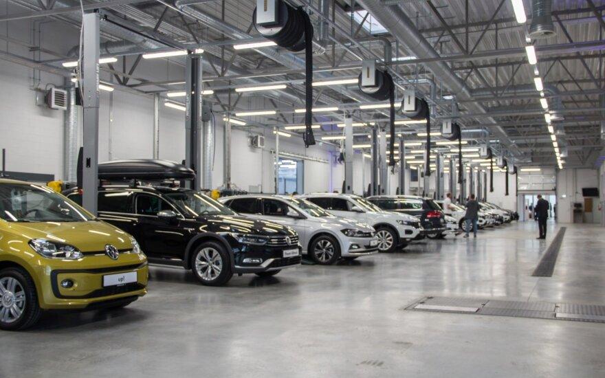 Rusijos naujų automobilių rinka 2018-aisiais augo 13 proc.