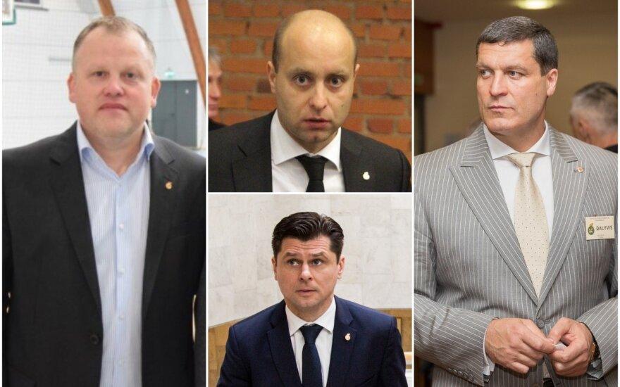 Žydrūnas Buzas, Nerijus Dunauskas, Tomas Danilevičius, Arūnas Pukelis