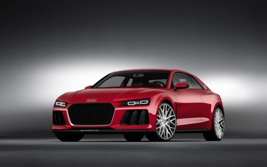 Audi Sport quattro laserlight koncepcija
